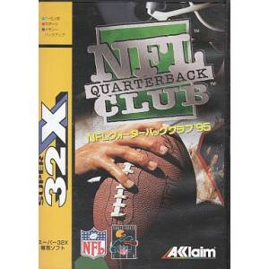NFL Quarterback Club '95 [32X - Used Good Condition]