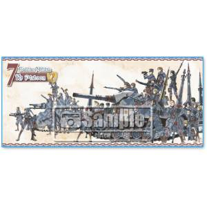 Valkyria Chronicles Remaster - Seventh Platoon Graphical Towel [Ebten Limited]