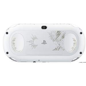PlayStation Vita Glacier White - Saga Scarlet Grace False god Limited Edition [new]