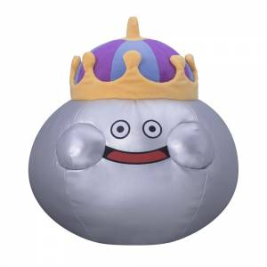 Dragon Quest - King Metal Slime Plush Doll L [Plush Toys]