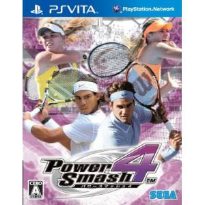 Power Smash 4 / Virtua Tennis 4 [PS Vita]