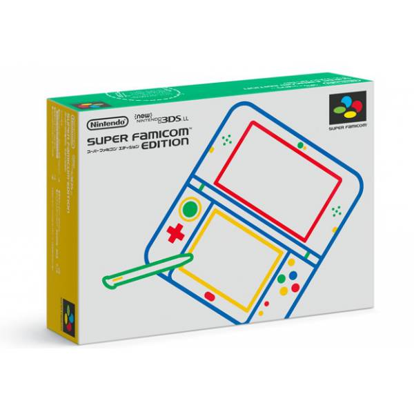 new nintendo 3ds ll xl super famicom limited edition. Black Bedroom Furniture Sets. Home Design Ideas