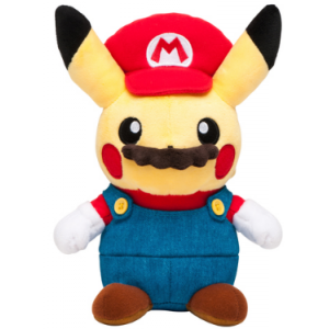 Stuffed Pikachu Mario ver. - Pokemon Center Limited Edition [Plush Toys]
