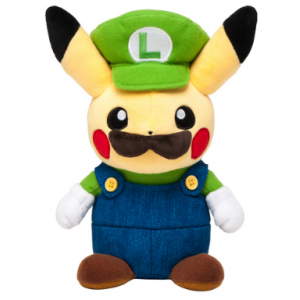 Stuffed Pikachu Luigi ver. - Pokemon Center Limited Edition [Plush Toys]