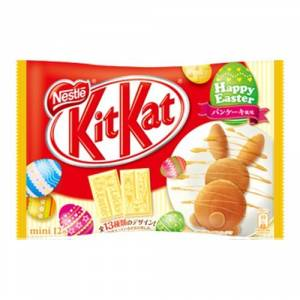 KIT KAT - Mini Pancake (1 Bag, 12 Mini Bars) [Food & Snacks]
