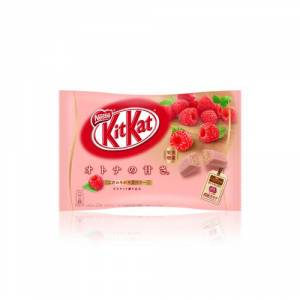 KIT KAT - Raspberry (1 Bag, 12 Mini Bars) [Food & Snacks]