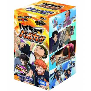 Haikyuu!! Vobaca!! - Expansion Pack Vol.11 Concept no Tatakai HV-11 24 Pack BOX [Trading Cards]