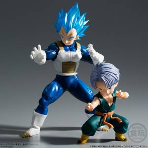 Dragon Ball Super - SSGSS Vegeta & childhood Trunks Premium Bandai Limited Set [STYLING]