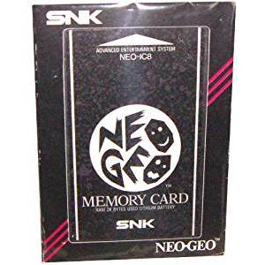 Memory Card Neo Geo AES [in box / Used Good Condition]
