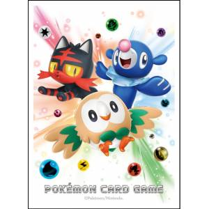 Pokemon Sun and Moon - Deck Shield Rowlet, Litten, Popplio [Trading Cards]