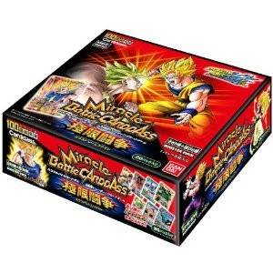 Miracle Battle Carddass Dragon Ball Kai DB10 20x Booster Pack Box [Trading Cards]