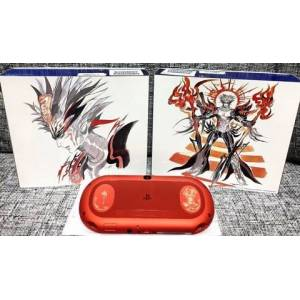 PlayStation Vita Mettalic Red - Saga Scarlet Grace Special Pack Limited Edition [new]