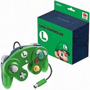 Manette Game Cube - Luigi [NGC - occasion BE]