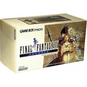 Game Boy Micro Final Fantasy IV Version [GBA - occasion BE]