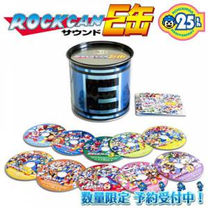 Rockman / Megaman 25th Anniversary Soundtrack E Capsule - e-Capcom Limited Edition [Music CD - used]