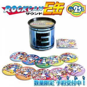 Rockman / Megaman 25th Anniversary Soundtrack E Capsule - e-Capcom Limited Edition [Music CD - used]