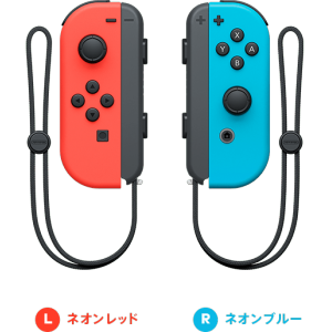 Nintendo Switch Joy-Con Neon Red (L) /  Neon Blue (R) Set [Switch]