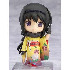 Puella Magi Madoka Magica The Movie - Homura Akemi: Kimono Ver. [Nendoroid 722]