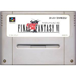 Final Fantasy VI [SFC - Used / LOOSE]