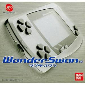 WonderSwan Skeleton Blue Complete in box [Used Good Condition]
