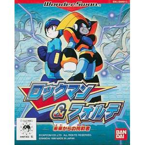 Rockman & Forte - Mirai Kara no Chousensha [WS - Used Good Condition]