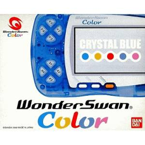 WonderSwan Colo Crystal Orange Complete in box [Used Good Condition]