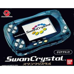 Swan Crystal Clear Black (Complete in box) [Used Good Condition]