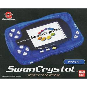 Swan Crystal Clear Blue (Complete in box) [Used Good Condition]