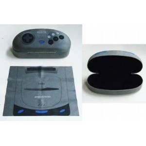 Sega Saturn - Glasses Case (Black) [C84 Official Limited Goods]