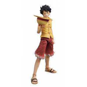 ONE PIECE - Monkey D. Luffy PAST BLUE (Ver.Yellow) [Variable Action Heroes]