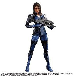 Mass Effect - Ashley Williams [Play Arts Kai]