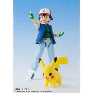 Pokemon - Pikachu & Ash Ketchum/ Satoshi [SH Figuarts]