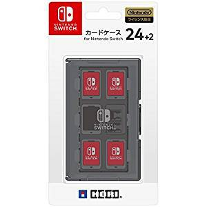 FREE SHIPPING - Card Case 24 + 2 for Nintendo Switch - Grey [Hori]