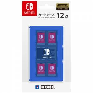 Card Case 12 + 2 for Nintendo Switch - Blue [Hori]