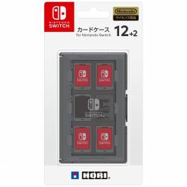Card Case 12 + 2 for Nintendo Switch - Grey [Hori]