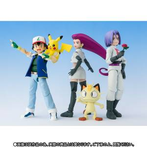 Pokemon - Pikachu Satoshi / Team Rocket Limited Set [SH Figuarts]
