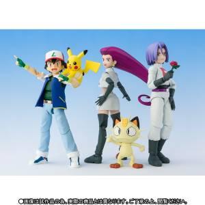 Pokemon - Pikachu Satoshi / Team Rocket Limited Set with Bonus Part [SH Figuarts]
