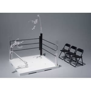 Tamashii Stage ACT. Ring Corner (Neutral Corner) & Pipe Chair Set [SH Figuarts]