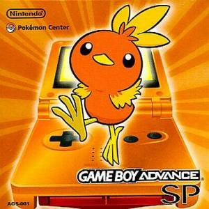 Game Boy Advance SP Orange Pokemon Center Limited Edition [GBA - occasion BE]