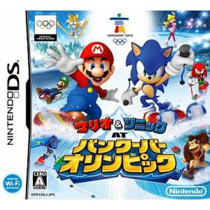 Mario & Sonic at Vancouver Olympic / Mario & Sonic aux Jeux Olympiques d'Hiver [NDS - occasion BE]