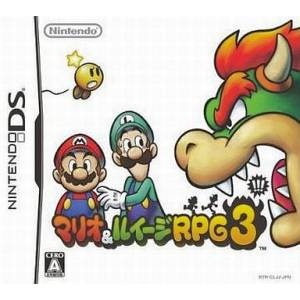 Mario & Luigi RPG 3 / Bowser's Inside Story [NDS - Used Good Condition]