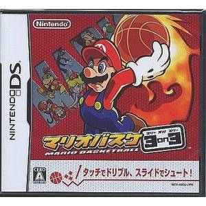 Mario Basket 3 on 3 / Mario Slam Basketball [NDS - Occasion BE]