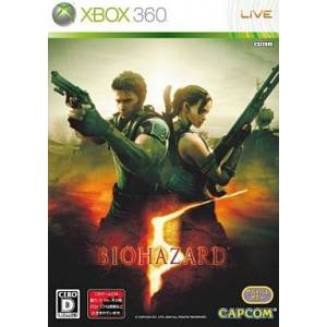 BioHazard 5 / Resident Evil 5 [X360 - Used Good Condition]