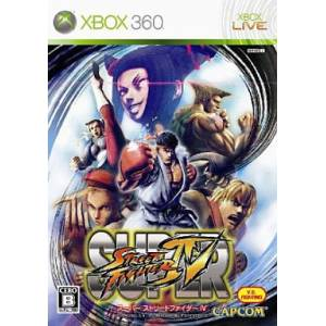 Super Street Fighter IV [X360 - Used Good Condition]