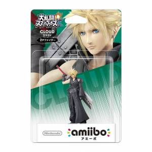 Amiibo Cloud (Player 2 Ver.) - SUPER SMASH BROS. SERIES VER. [Wii U]
