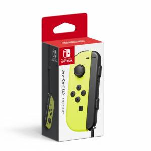 FREE SHIPPING - Nintendo Switch Joy-Con (L) Neon Yellow Limited Version [Switch]