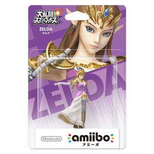 FREE SHIPPING - Amiibo Zelda - Super Smash Bros. series Ver. [Wii U]