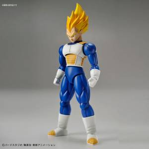 FREE SHIPPING - Dragon Ball Z - Super Saiyan Vegeta Plastic Model [Figure-rise Standard]