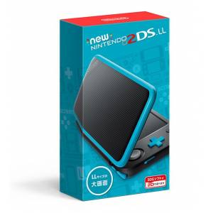 New Nintendo 2DS XL Black × Turquoise Edition [Brand New]