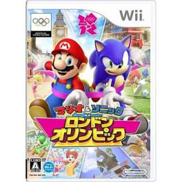 Mario & Sonic at London Olympic / Mario & Sonic at the London 2012 Olympic Games [Wii - Used Good Condition]